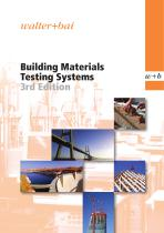 Building Materials Testing Systems