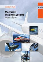 Material Testing Systems Overview
