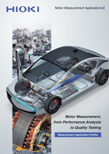 Motor Measurement Applications