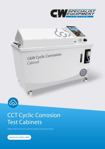 Cyclic Corrosion Cabinet