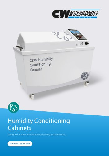 Humidity Conditioning Cabinet