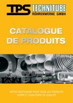 Catalogue de Produits