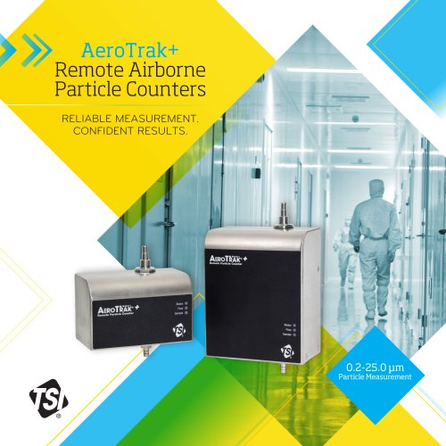 AeroTrak Plus Remote Airborne Particle Counters Brochure