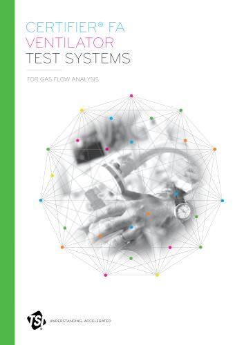 Certifier FA Ventilator Test Systems
