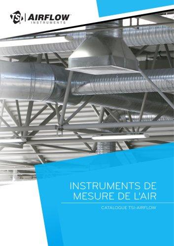 Instruments de mesure de l'air - Airflow