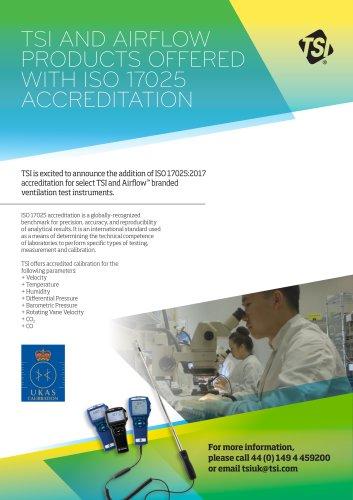 ISO 17025 Accreditation Brochure