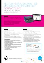 PortaCount 8040 Specsheet INRS