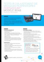 PortaCount 8048 Specsheet INRS