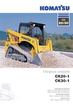 Chargeuse compacte à chenille CK20-1