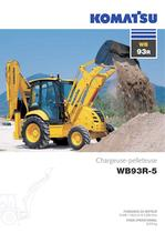 Chargeuses pelleteuses WB93R-5