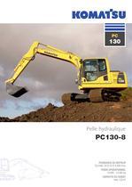 Pelle hydraulique - PC130-8