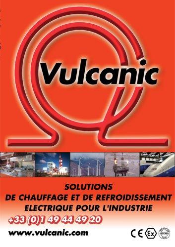Catalogue Vulcanic : Solutions de chauffage et de refroidissement électrique pour l'industrie