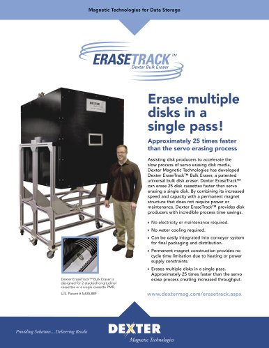 EraseTrack Data Sheet