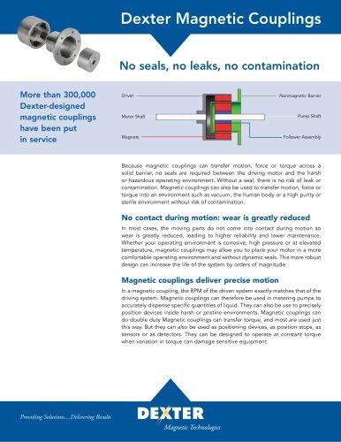 Magnetic Coupling Data Sheet