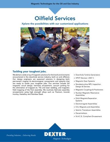 Oilfield Services Data Sheet