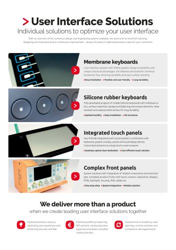 User Interface Solutions