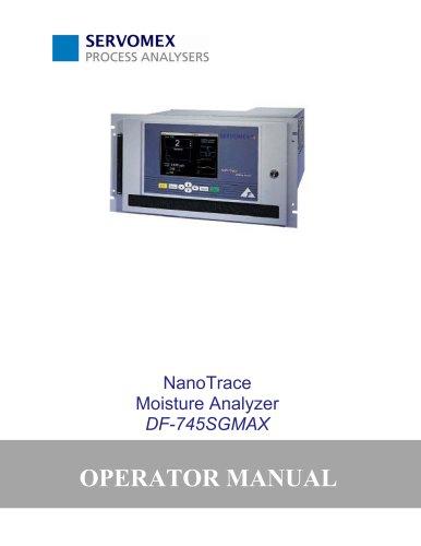 DF745SGMax Operator Manual