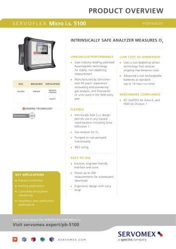 SERVOFLEX Micro 5100 Product Brochure