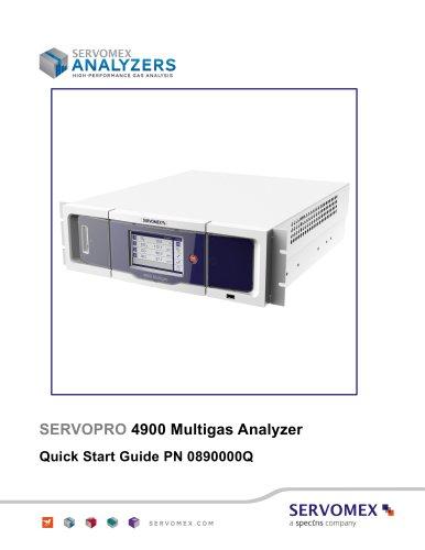 SERVOPRO 4900 Multigas Quick Start Guide Rev A05
