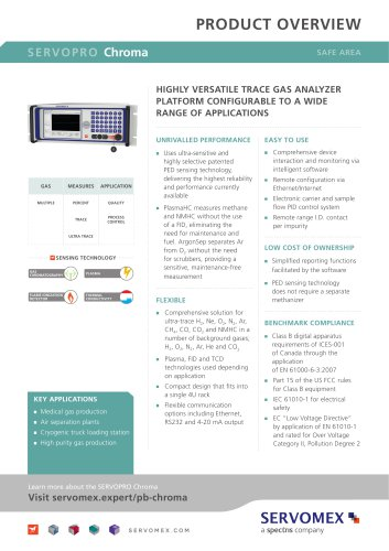 SERVOPRO Chroma Product Brochure