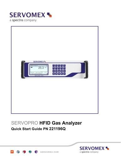 SERVOPRO HFID Quick Start Guide PN 221196Q Rev 1