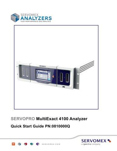 SERVOPRO MultiExact 4100 Quick Start Guide rev 2.2