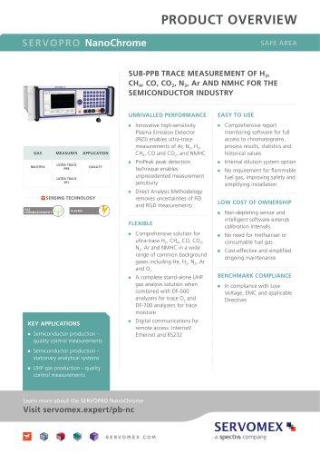 SERVOPRO NanoChrome Product Brochure