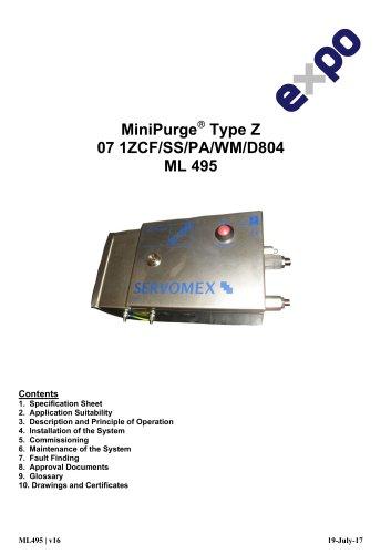 SERVOTOUGH FluegasExact 2700 MiniPurge Installation-Manual for ATEXIECEx