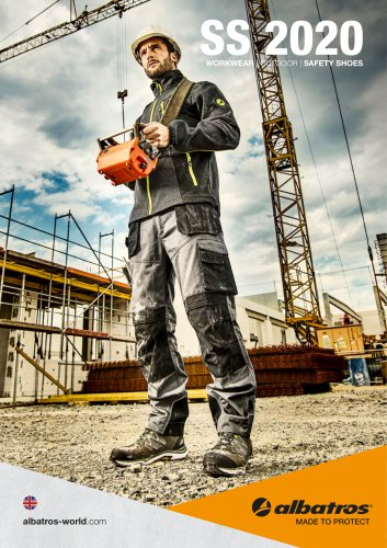 SS 2020 WORKWEAR   OUTDOOR   SAFETY SHOES