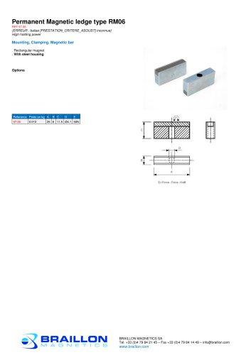 Permanent Magnetic ledge type RM06