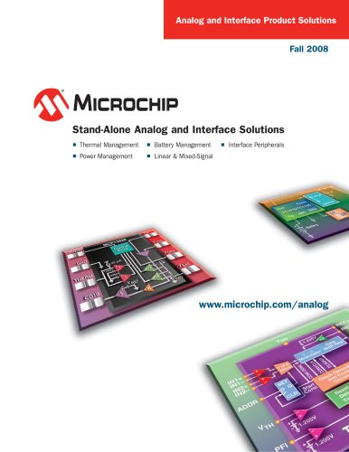 Stand-Alone Analog and Interface Solutions Brochure