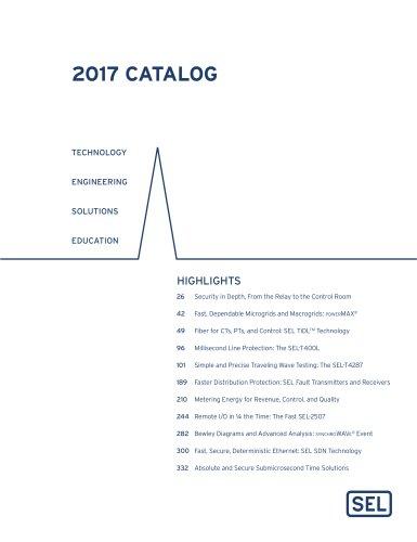 2017 SEL Catalog