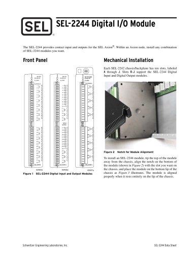 SEL-2244 Digital I/O Module