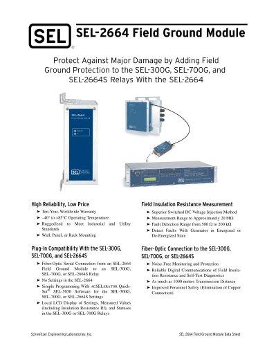 SEL-2664 Field Ground Module