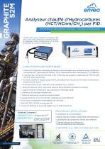 Graphite52M- Analyseur d'hydrocarbures HCT, HCnM et méthane (CH4)