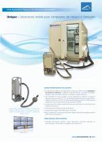Laboratoire mobile pour la mesure de polluantsen cheminée ( émissions )