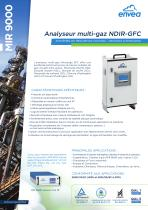 Mesure de polluants en cheminée : analyseur multi-gaz IR-GFC MIR9000