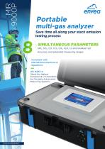 MIR 9000P portable stack emission monitor