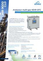 MIR9000CLD analyseur en cheminée : multi-gas-IR-GFC et CLD