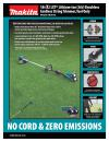 Makita XRU07Z New
