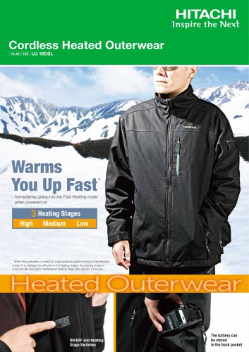 Cordless Heated Outerwear