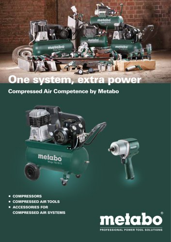 METABO COMPRESSED AIR