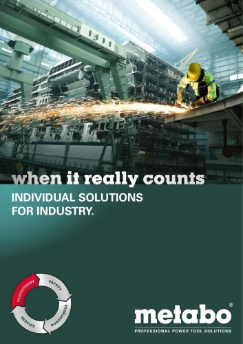 METABO INDUSTRIAL BROCHURE