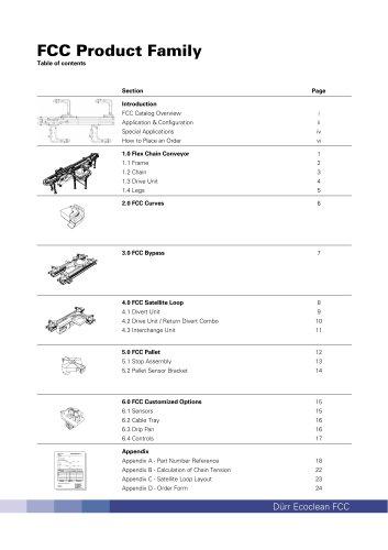 FCC catalogue