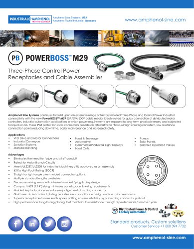 POWERBOSS™ M29