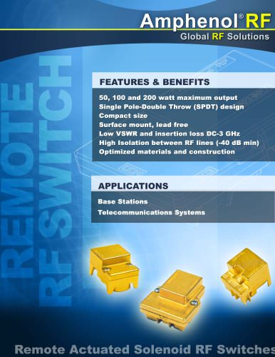 RF Switch Brochure