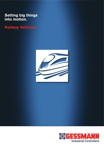 Productfolder Railway Vehicles