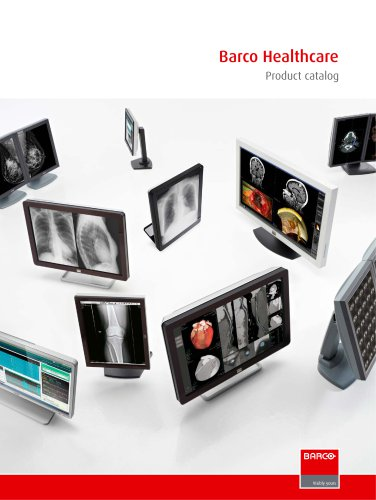 Barco Healthcare - Product catalog