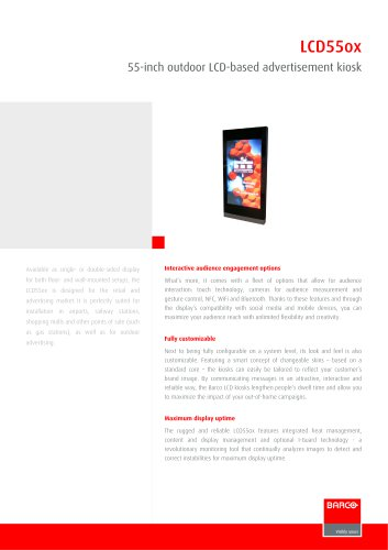 LCD55ox