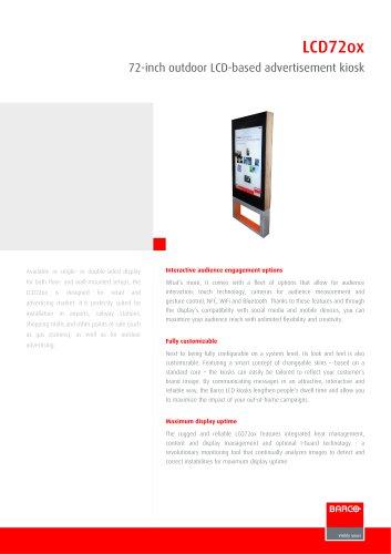 LCD72ox